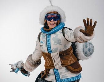 Mei Yeti Hunter cosplay costume