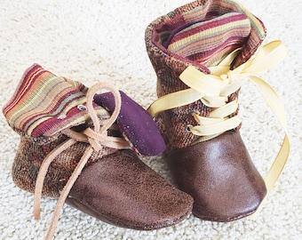 Handmade Booties in Barefoot Style