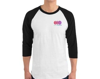 ec2801015633 Hello Worlds 3/4 T-Shirt - Index Inspired