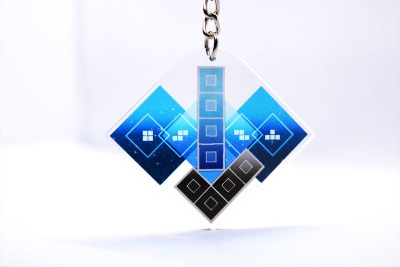 Hard Drop 2 Double Sided Acrylic Keychain image 0