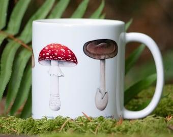 Mushroom Mug - Amanita Species