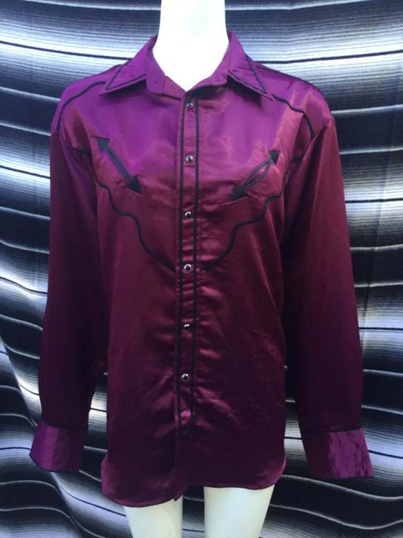 Wrangler silky western shirt
