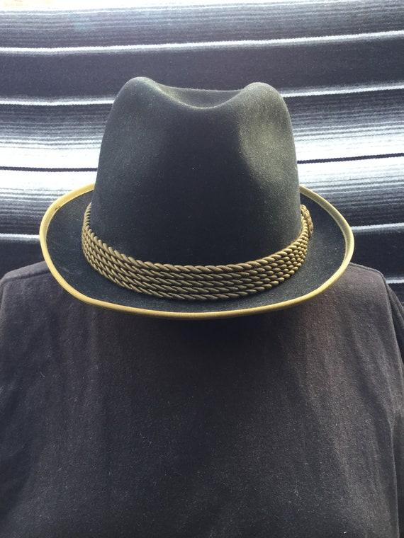 Vintage Wegener Colonel Hat