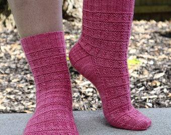 Sock Camp Picnic - PDF Sock Pattern