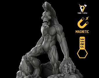 Cave Feral miniature Dungeons and dragons, DnD , Age of Sigmar, W40k, 9th Age, kow, mordheim   RPG tabletop miniature