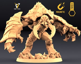 Umber Hulk miniature Dungeons and dragons, DnD , Age of Sigmar, W40k, 9th Age, kow, mordheim | RPG tabletop miniature