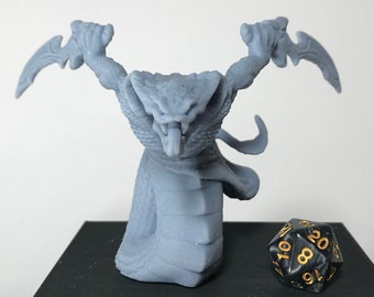 yuan - ti abomination huge miniature outlet pathfinder, DnD, Dungeons and dragons, frostgrave, mordheim | RPG tabletop miniature