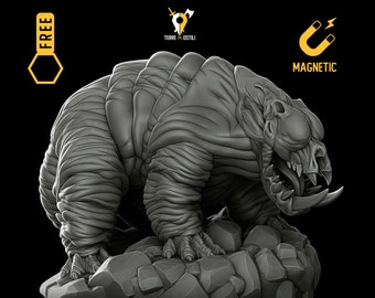 Den-Mauler lovecraftian miniature Dungeons and dragons, DnD , Age of Sigmar, W40k, 9th Age, kow, mordheim | RPG tabletop miniature