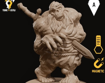 Zombie dwarf miniature undead pathfinder, DnD, Dungeons and dragons, Age of Sigmar, frostgrave, mordheim | RPG tabletop miniature