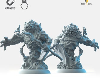 Water elemental miniature Dungeons and dragons, DnD , Age of Sigmar, W40k, 9th Age, kow, mordheim | RPG tabletop miniature