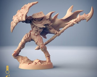 Hero druid fighter Scourgeland miniature Dungeons and dragons, pathfinder, DnD , Age of Sigmar, frostgrave mordheim | RPG tabletop miniature
