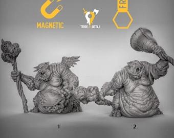 Nalfeshnee fiend pestilence DnD miniatures | Dungeons and dragons D&D RPG tabletop miniature paint free initiative tracker