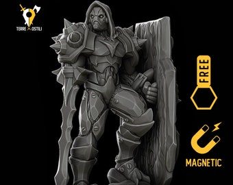 Warforged miniature Dungeons and dragons, DnD , Age of Sigmar, W40k, 9th Age, kow, mordheim | RPG tabletop miniature