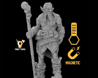 Firbolg miniature Dungeons and dragons, DnD , Age of Sigmar, W40k, 9th Age, kow, mordheim | RPG tabletop miniature