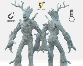 Treant miniature ent Dungeons and dragons, DnD , Age of Sigmar, W40k, 9th Age, kow, mordheim | RPG tabletop miniature