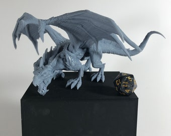 Bronze dragon miniature outlet pathfinder, DnD, Dungeons and dragons, Age of Sigmar, frostgrave, mordheim | RPG tabletop miniature