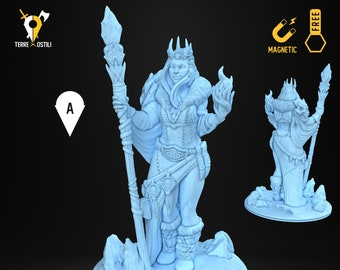 Frost giant queen miniature Dungeons and dragons, DnD , Age of Sigmar, W40k, 9th Age, kow, mordheim | RPG tabletop miniature