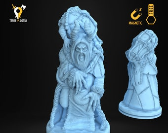 Ice devil night kidnapper miniature Dungeons and dragons, DnD , Age of Sigmar, W40k, 9th Age, kow, mordheim | RPG tabletop miniature