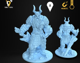 Frost giant king miniature Dungeons and dragons, DnD , Age of Sigmar, W40k, 9th Age, kow, mordheim | RPG tabletop miniature