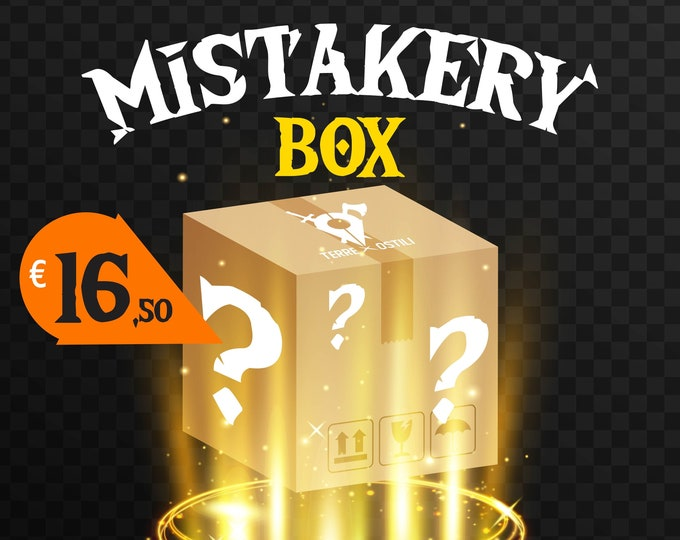 Featured listing image: Mistakery box mystery box with outlet miniatures pathfinder, DnD, Dungeons and dragons, Age of Sigmar, frostgrave | RPG tabletop miniature