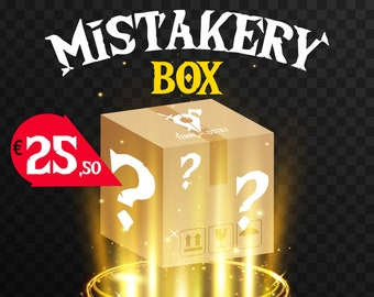 Mistakery box mystery box with outlet miniatures pathfinder, DnD, Dungeons and dragons, Age of Sigmar, frostgrave | RPG tabletop miniature