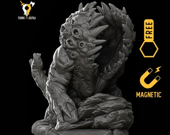 Cage Mouth miniature Dungeons and dragons, DnD , Age of Sigmar, W40k, 9th Age, kow, mordheim | RPG tabletop miniature