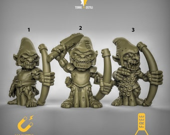 Goblin  Archer  DnD miniatures | Dungeons and dragons D&D RPG tabletop miniature paint free initiative tracker