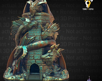 Tiamat dragon queen Dice Tower DnD, Dungeons and Dragons , Pathfinder, Starfinder, Frostgrave, Mordheim, Cthulhu, lovecraft, 9 age