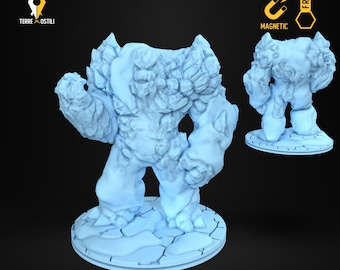 Ice frost cold  elemental miniature Dungeons and dragons, DnD , Age of Sigmar, W40k, 9th Age, kow, mordheim | RPG tabletop miniature