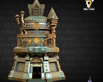 Artificer engineer Dice Tower steampunk DnD, Dungeons and Dragons , Pathfinder, Starfinder, Frostgrave, Mordheim, Cthulhu, lovecraft, 9 age