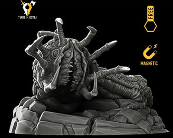 Lovecraftian Bleed feeder miniature Dungeons and dragons, DnD , Age of Sigmar, W40k, 9th Age, kow, mordheim   RPG tabletop miniature