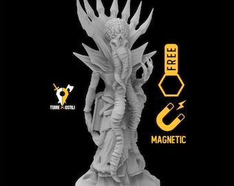 Mind Flayer miniature Dungeons and dragons, DnD , Age of Sigmar, W40k, 9th Age, kow, mordheim | RPG tabletop miniature