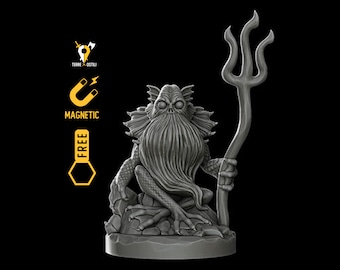 Swamp forest spirit miniature Dungeons and dragons, DnD , Age of Sigmar, W40k, 9th Age, kow, mordheim | RPG tabletop miniature