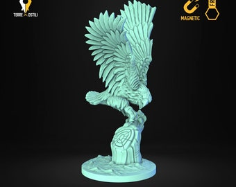 Eagle falcon hawk miniature animal companion familiar Dungeons and dragons, DnD , W40k, 9th Age, kow, mordheim | RPG tabletop miniature