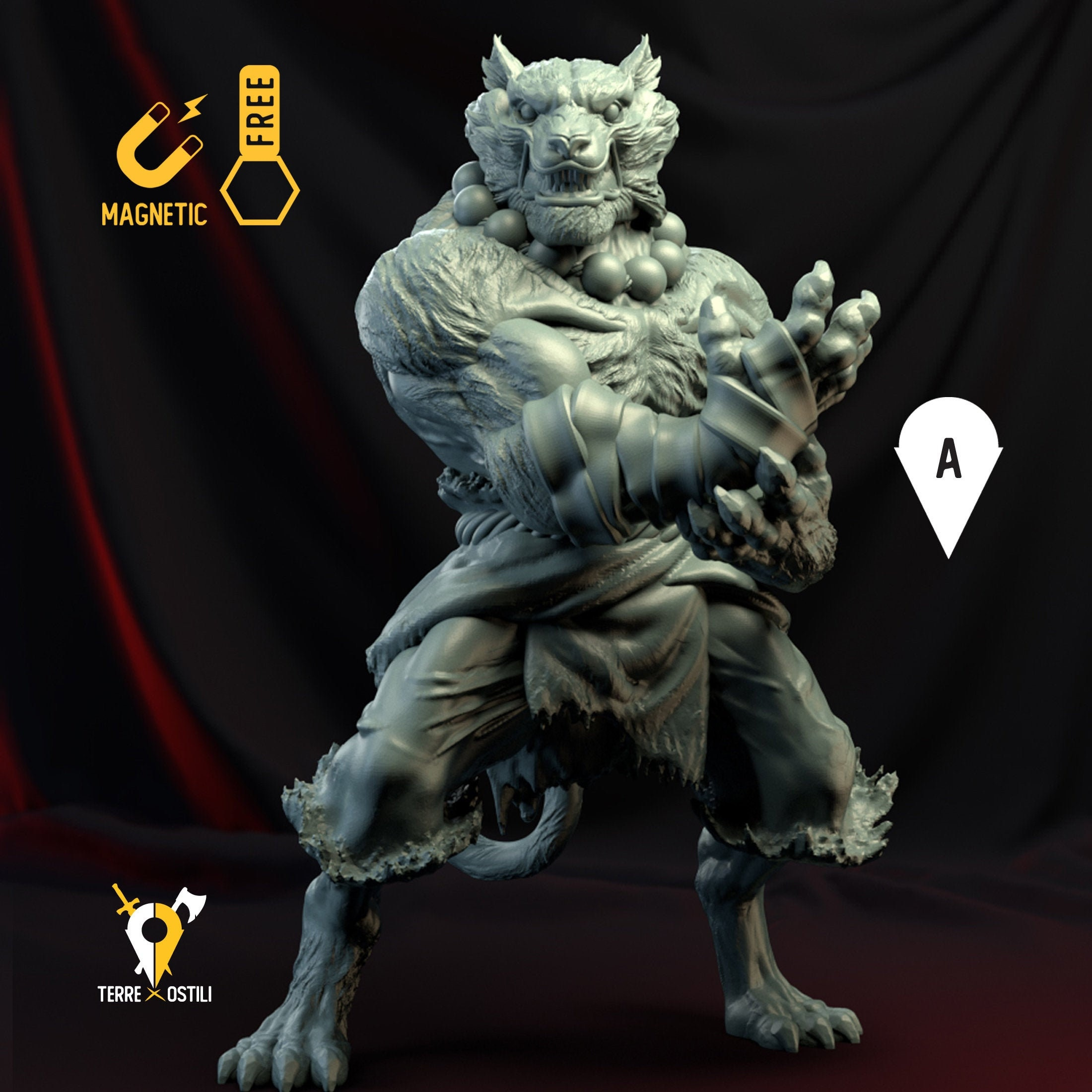 Tabaxi Monk Catfolk Miniature Dungeons And Dragons Dnd Age Of Sigmar W40k 9th Age Kow Mordheim Rpg Tabletop Miniature Tabaxi tend toward chaotic alignments, as they let impulse and fancy guide their decisions. tabaxi monk catfolk miniature dungeons