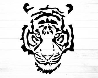 Tigers Football Svg Etsy