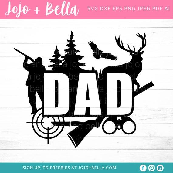 Download Hunting Dad Svg Dad Svg Fathers Day Svg Dad Hunting Svg Etsy