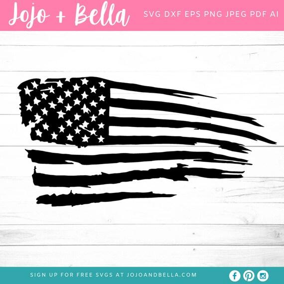 Get Distressed American Flag Svg Free Gif