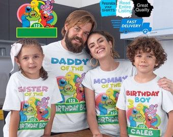 Sesame Street Friendship Kids T-Shirt