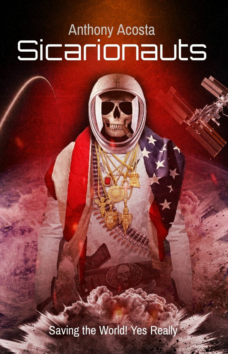 SICARIONAUTS Book  Sicarios. The most unlikely heroes image 0