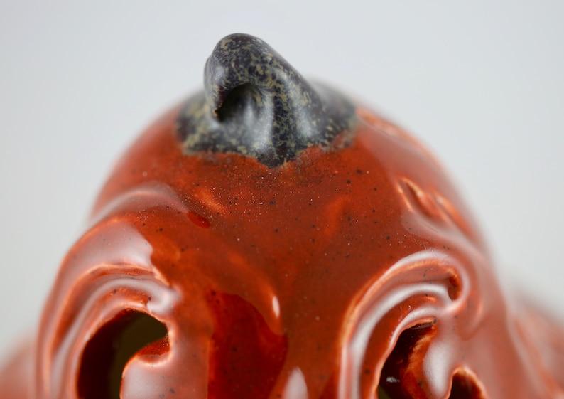 Ceramic Jack-o-lantern