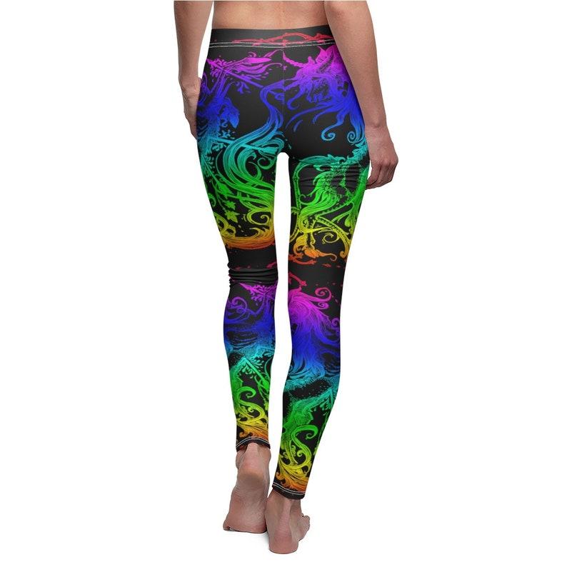 Rainbow Unicorn Blackout Leggings