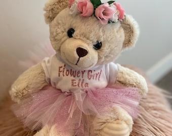 flower girl gift for wedding day