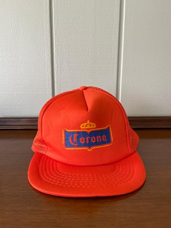 Vintage Corona Extra Beer Snapback Trucker Hat