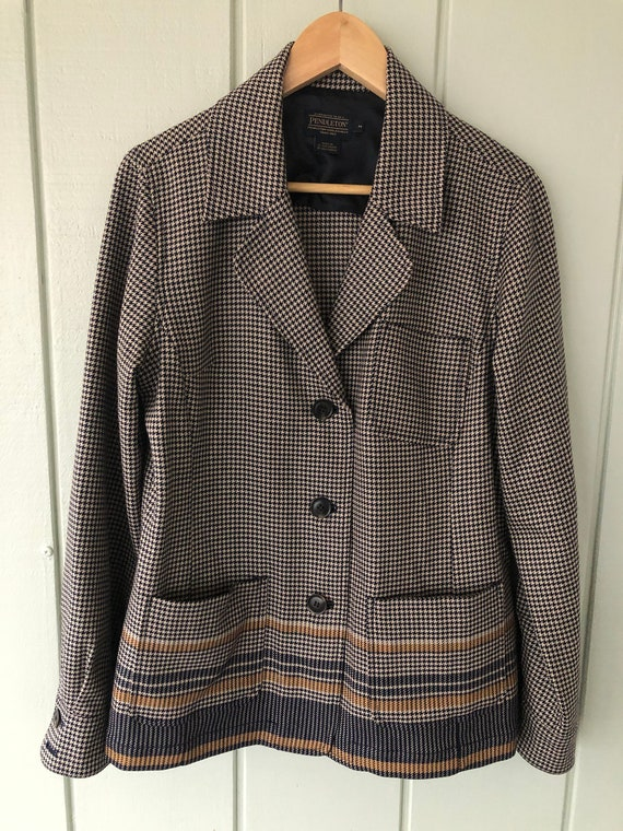 Pendleton Houndstooth Suit