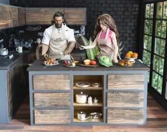 Barbie Kitchen Etsy