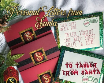 Personal Letters From Santa Claus for the Children in your Life.