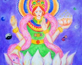 Chakra divine art | Etsy
