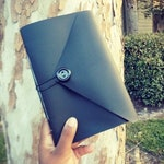Black Custom, Handmade Journal and Notebook