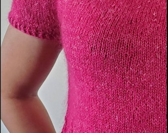 Pinky Promise Top - Knitting Pattern
